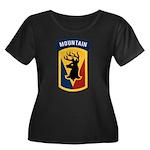 86th Infantry BCT Women's Plus Size Scoop Neck Dar
