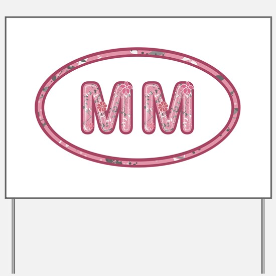 MM Pink Yard Sign