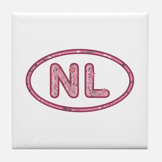 NL Pink Tile Coaster