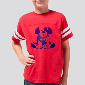 Microcosm Puppy Blue Youth Football Shirt