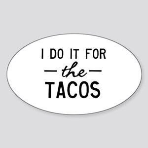 for the tacos Sticker