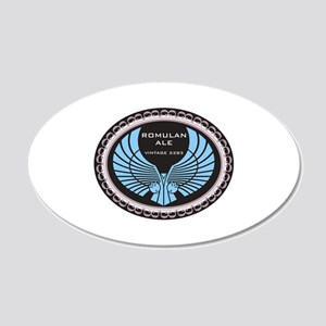 Romulan Ale 20x12 Oval Wall Decal