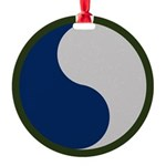 29th Infantry Round Ornament
