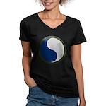 29th Infantry Women's V-Neck Dark T-Shirt