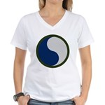 29th Infantry Women's V-Neck T-Shirt