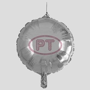 PT Pink Mylar Baloon