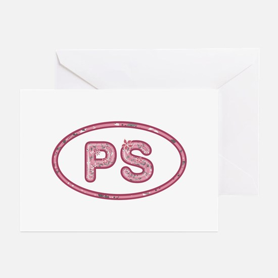 PS Pink Greeting Card 20 Pack