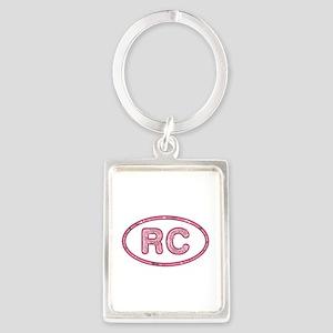 RC Pink Portrait Keychain