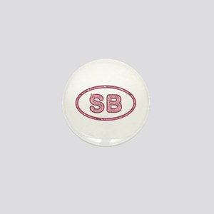 SB Pink Mini Button