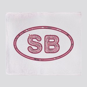 SB Pink Throw Blanket
