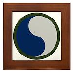 29th Infantry Framed Tile