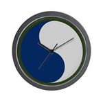 29th Infantry Wall Clock