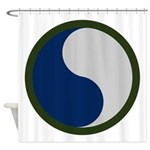 29th Infantry Shower Curtain