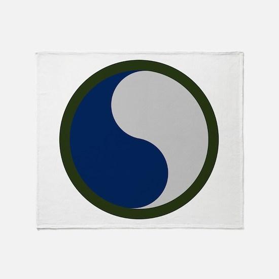 29th Infantry Throw Blanket