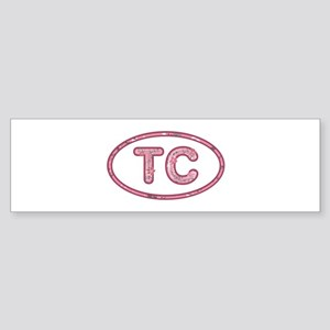 TC Pink Bumper Sticker