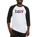 Baby Girl in the Belly Baseball Jersey