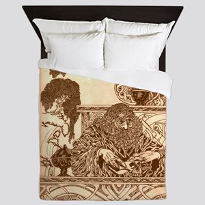 Woodland Wizard Queen Duvet