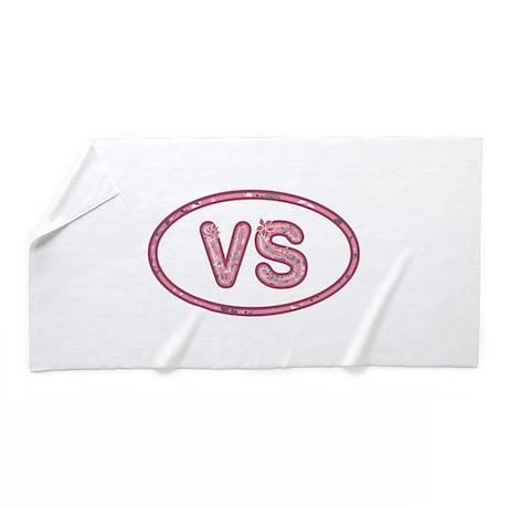 VS Pink Beach Towel