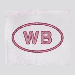 WB Pink Throw Blanket