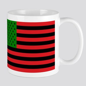 African American Flag Mugs