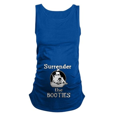 Surrender The Booties Maternity Tank Top
