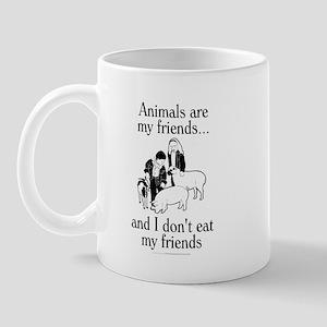 Animals are my friends Mug