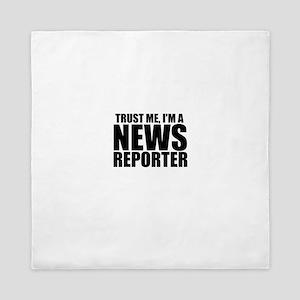 Trust Me, I'm A News Reporter Queen Duvet