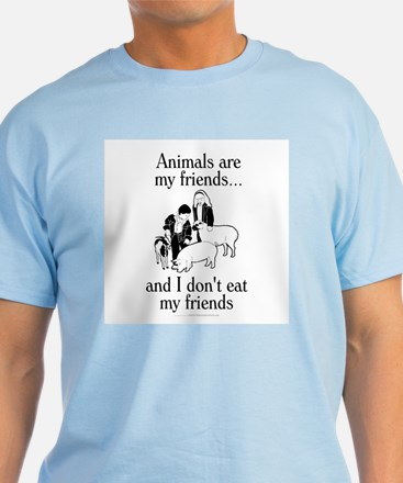 Animals are my friends T-Shirt
