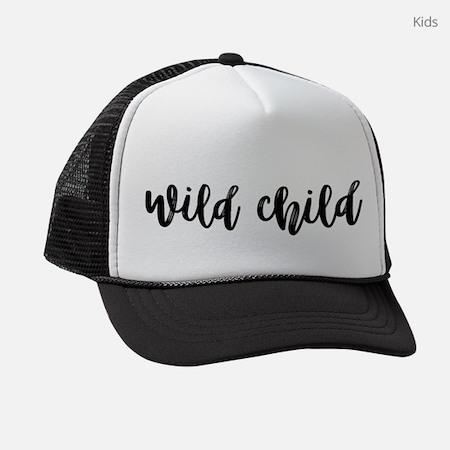 Wild Child Kids Trucker Hat