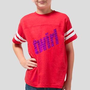 twirlholo Youth Football Shirt