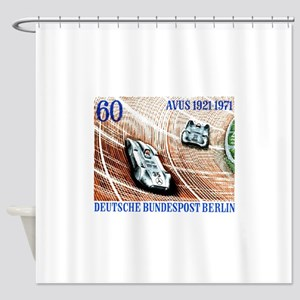 1971 Germany Avus Auto Race Postage Stamp Shower C