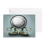 Golf Card Greeting Cards