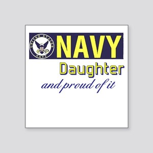 Navy Daughter Sticker