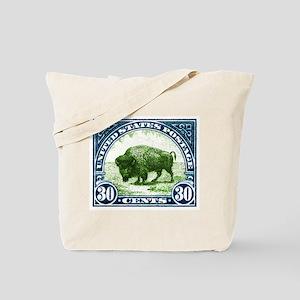 Antique 1923 U.S. American Bison Postage Stamp Tot