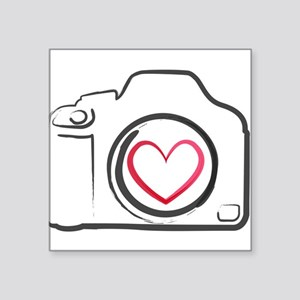 I Heart Photography Sticker
