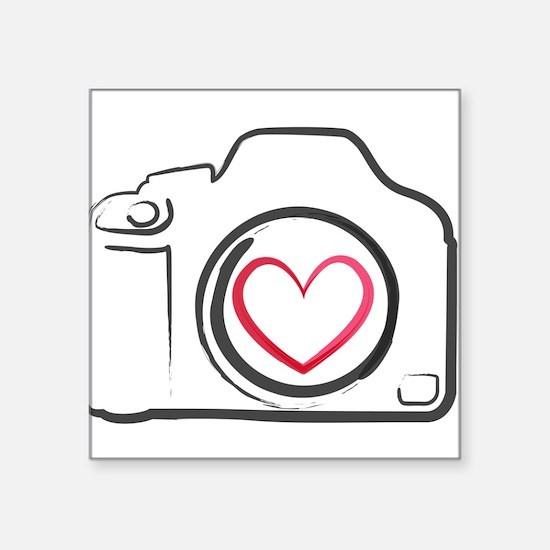 I Heart Photography Sticker