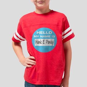 HankEPanky-BlueCircle Youth Football Shirt