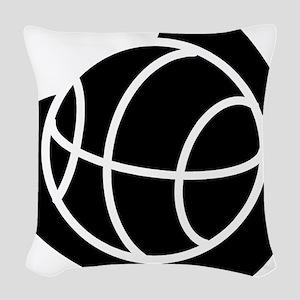 j0325764_BLACK Woven Throw Pillow