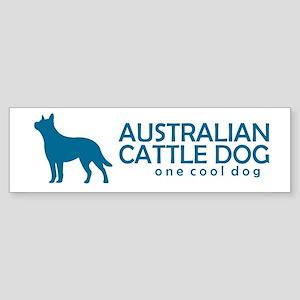 "Cattle Dog ""One Cool Dog"" Bumper Sticker"