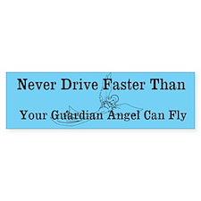 Guardian Angel - Sticker (Bumper)