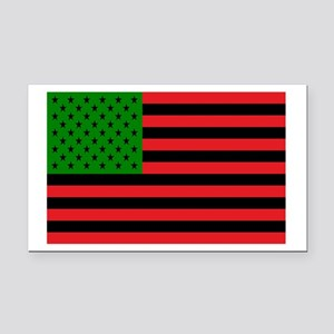 African American Flag Rectangle Car Magnet