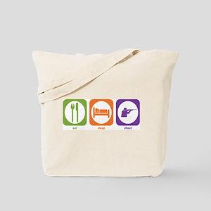 Eat Sleep Shoot Tote Bag