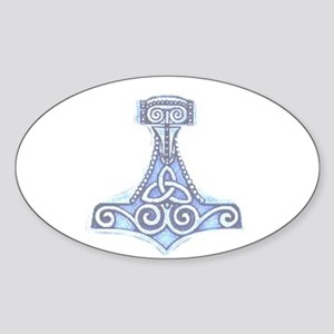 MJOLLNIR Oval Sticker