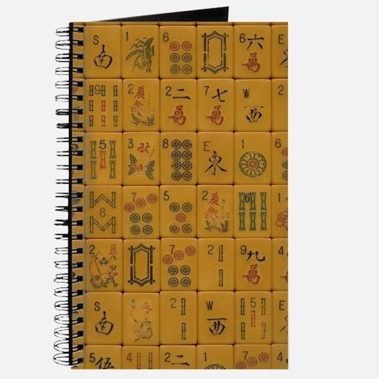 Old Style Mah Jongg Tile Journal