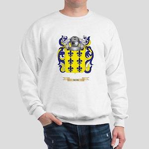 Nin Coat of Arms (Family Crest) Sweatshirt