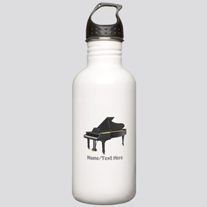 Piano Personalized Stainless Water Bottle 1.0L
