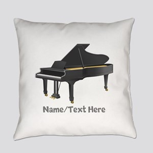 Piano Personalized Everyday Pillow