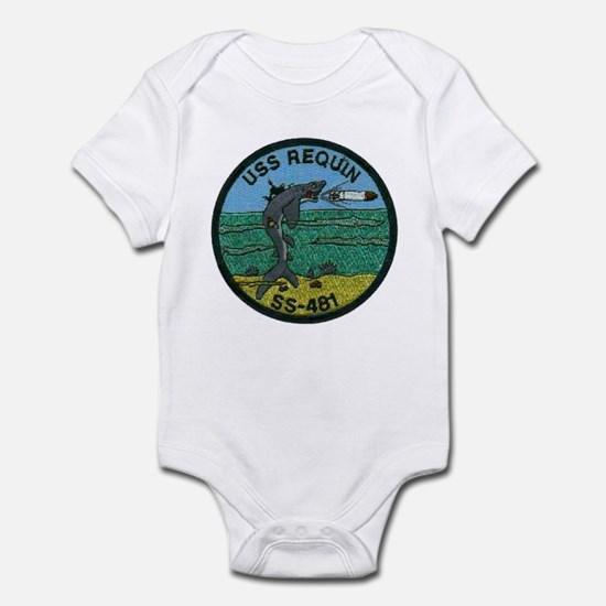 USS REQUIN Infant Bodysuit