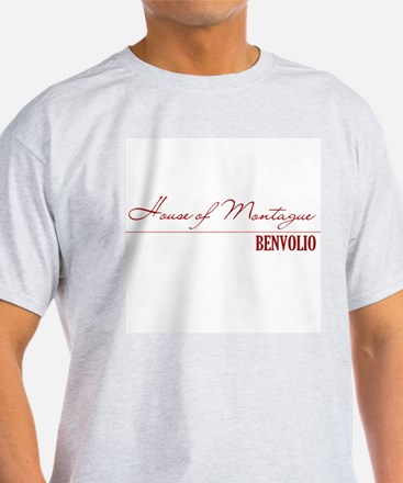 Benvolio Ash Grey T-Shirt