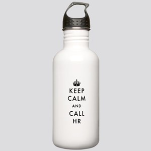 Keep Calm and Call HR Stainless Water Bottle 1.0L